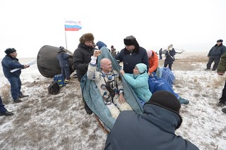 ESA Astronaut Returns to Earth