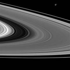 Saturn's Rings Seen by Cassini