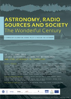 Astronomy, Radio Sources and Society: The Wonderful Century Conference Poster