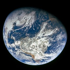 Image 2: Earth from Apollo 8