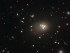 Four Galaxies in Cosmic Collision