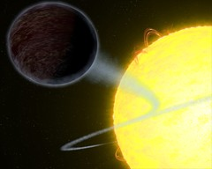 A Pitch-Black Exoplanet