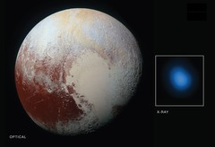 Seeing Pluto in X-ray Vision