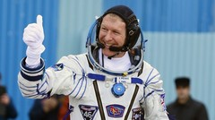 British Astronaut Blasts Off to International Space Station